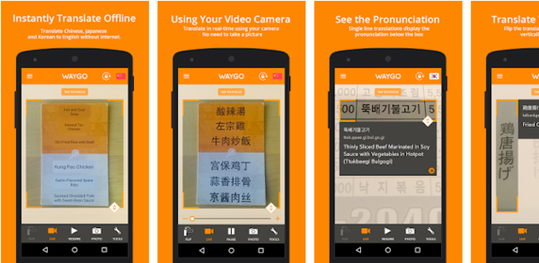 Waygo Asian Translator App for Iphone and Smartphone