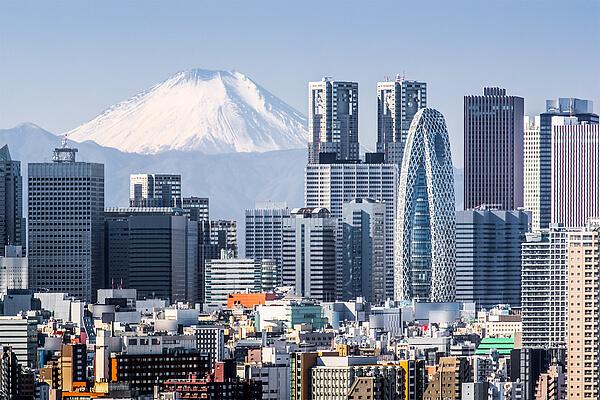 Tokyo ist die Hauptstadt Japans und einer der asiatischen Hotspots für Geschäftsreisen.